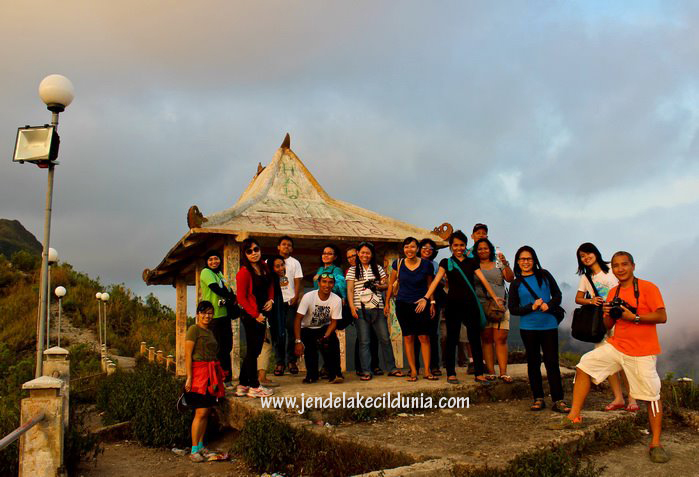 And here we are! Gardu Pandang Gunung Kelud