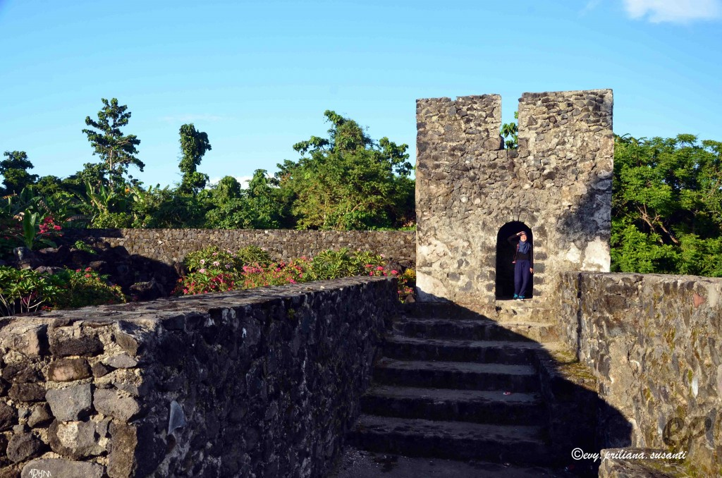 reconnaissance space at Fort Torre